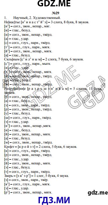 Гдз решебник по русскому языку 4 класс климанова бабушкина.
