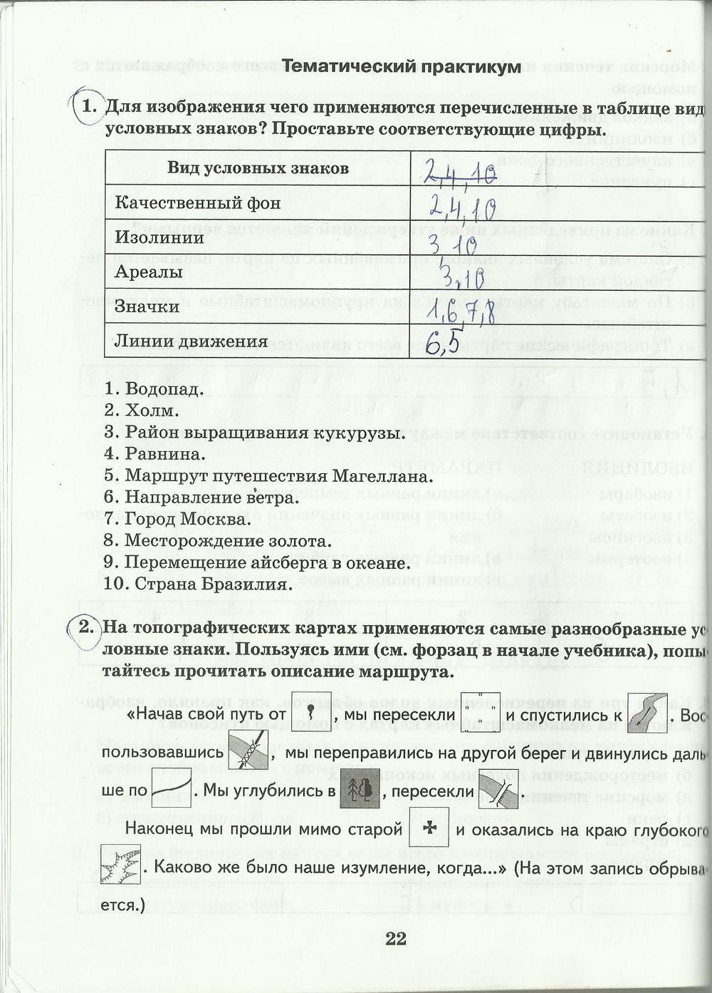 Гдз рабочая тетрадь по географии 6 класс домогацких и алексеевский