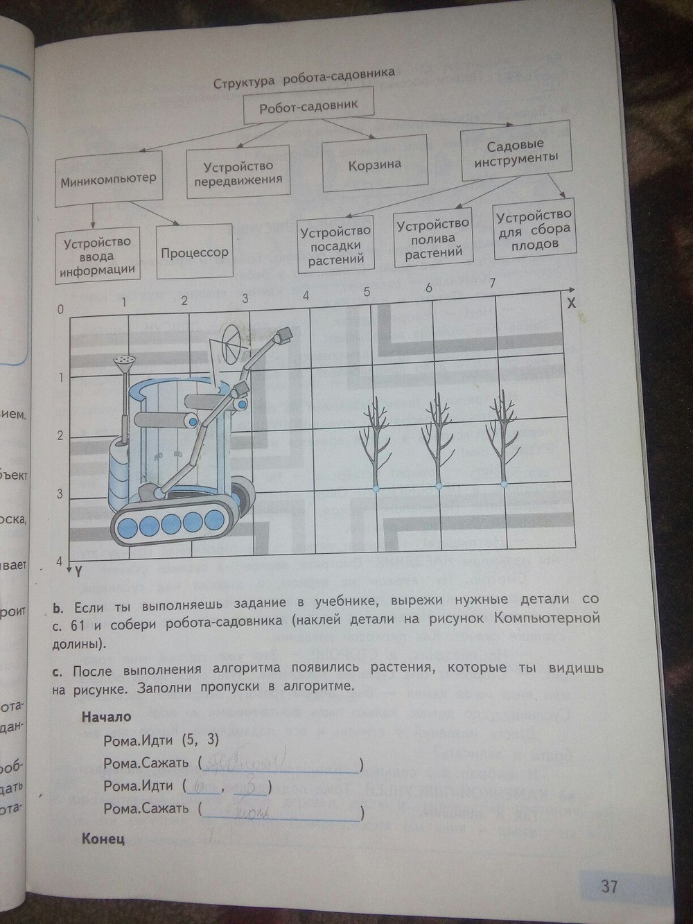 гдз по информатике 2 класс бененсон часть 1
