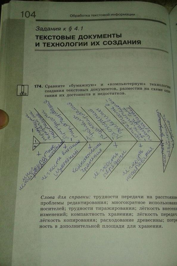 Гдз по информатике босова 7 класс учебник фгос   peatix.