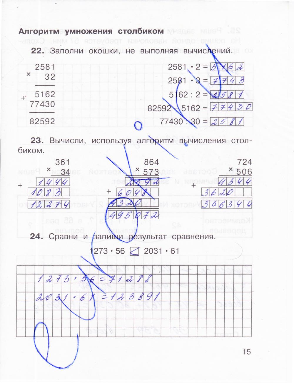 УМК Математика 4 класс Захарова