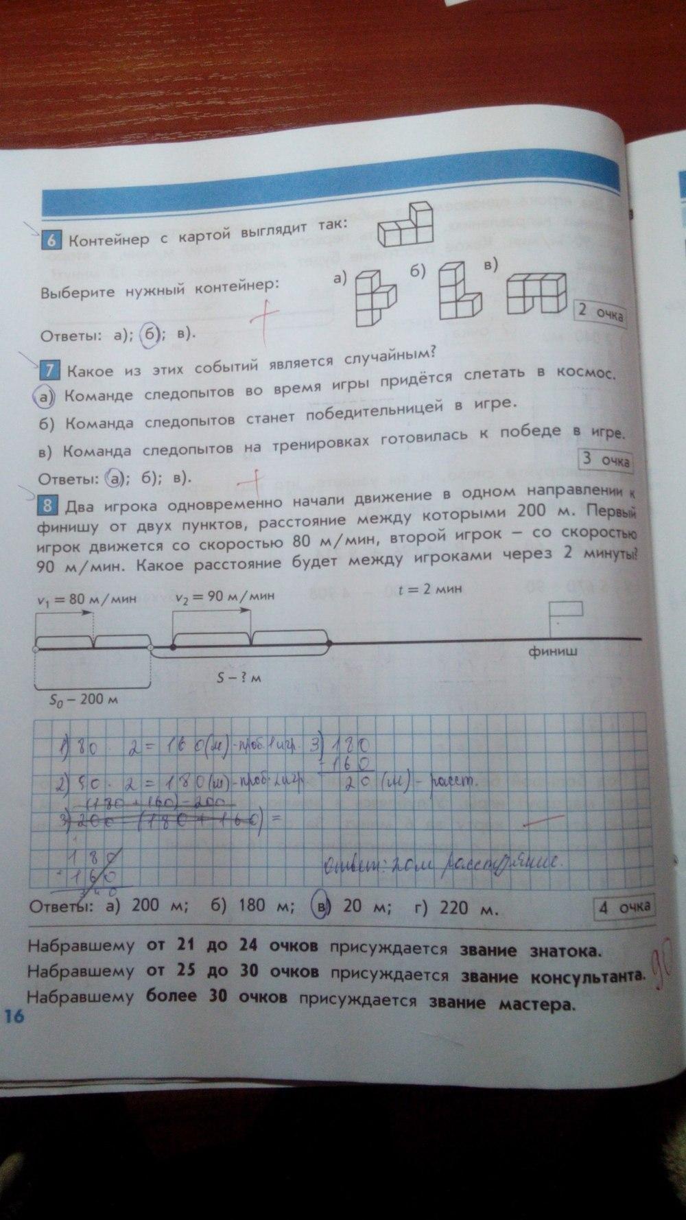 поурочные планы по математике 4 класс козлова демидова